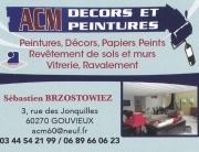 ACM décors et peinture Gouvieux