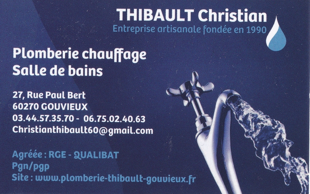 Thibault Christian Plomberie Chauffagiste
